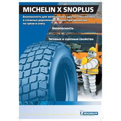 17.5R25 TL X SNOPLUS L2 * MICHELIN