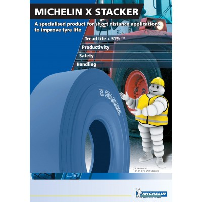 18.00R25 TL X STACKER2 MICHELIN 207A5